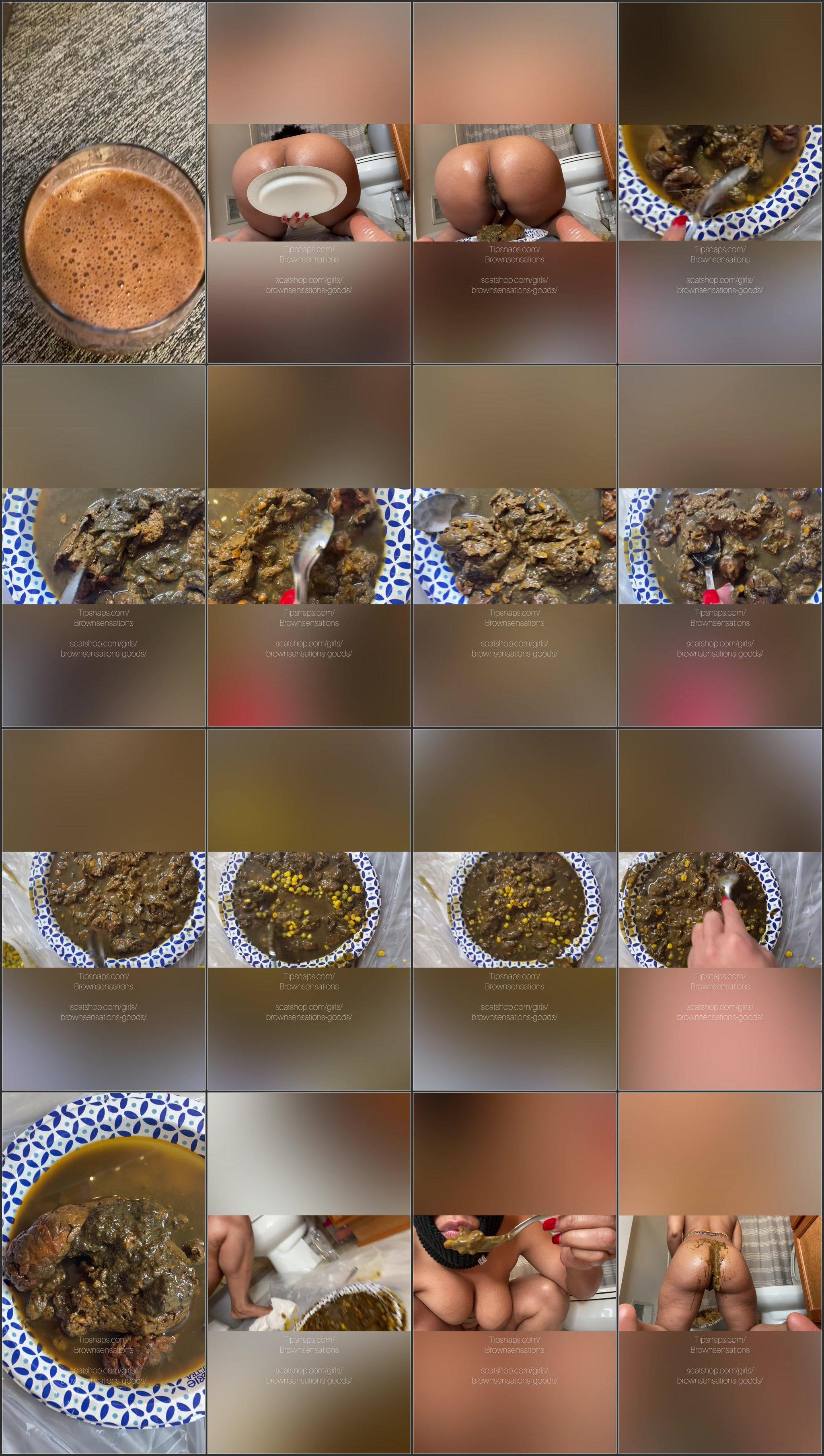 Brownsensations - Smearing My Dinner.ScrinList
