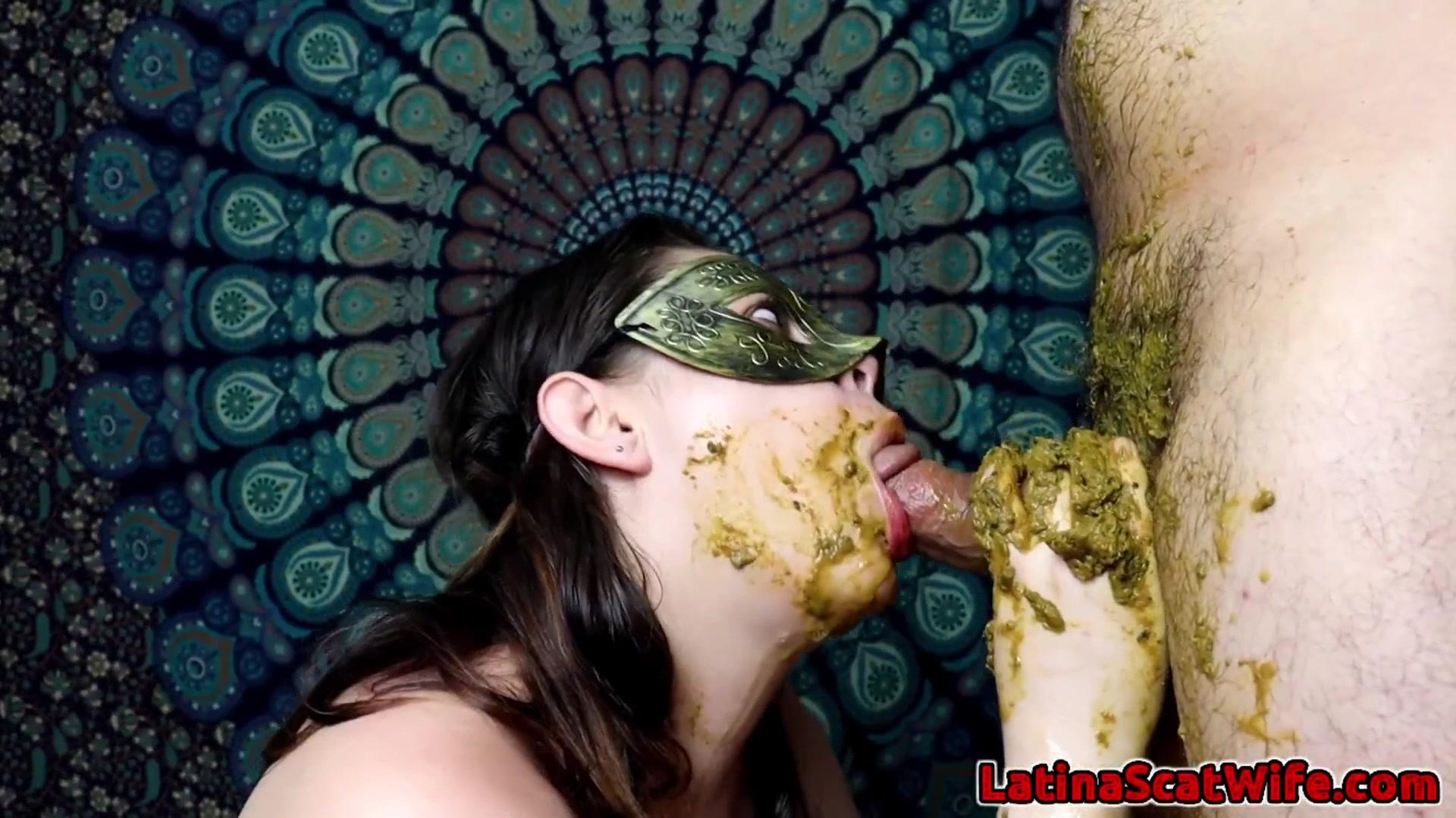 LatinaScatWife - Dirty Blowjob 3 Angle 1 00004