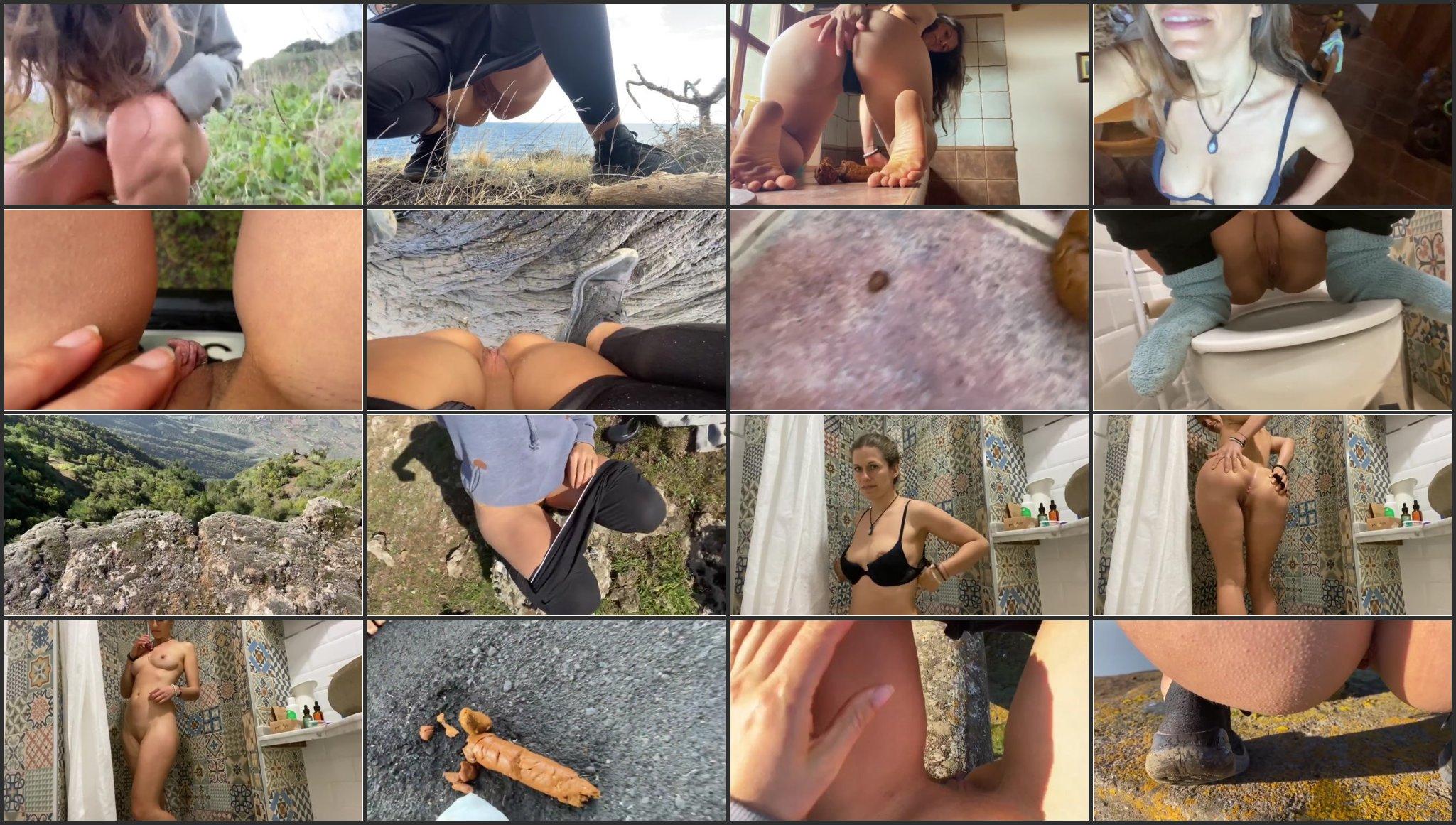 VeganLinda - Best of CRAZY Poo Pee Canary Islands (Part 2).ScrinList